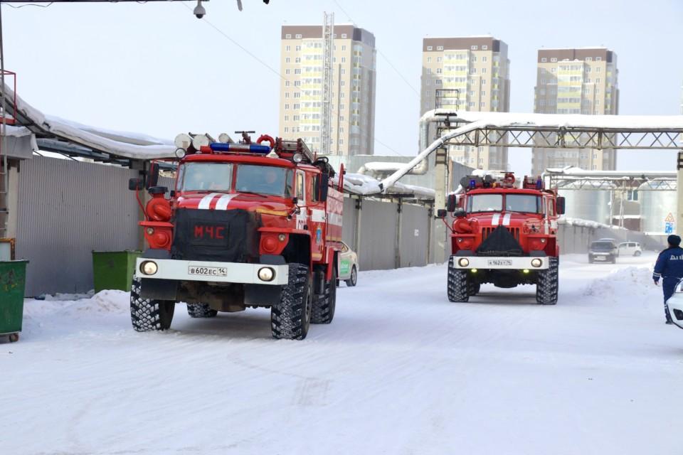 За сутки в Якутии произошло семь техногенных пожаров