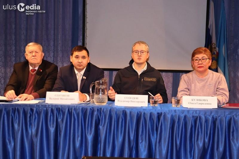 Отчет правительства. Владимир Солодов уделил много времени ответам на вопросы жителей Походска