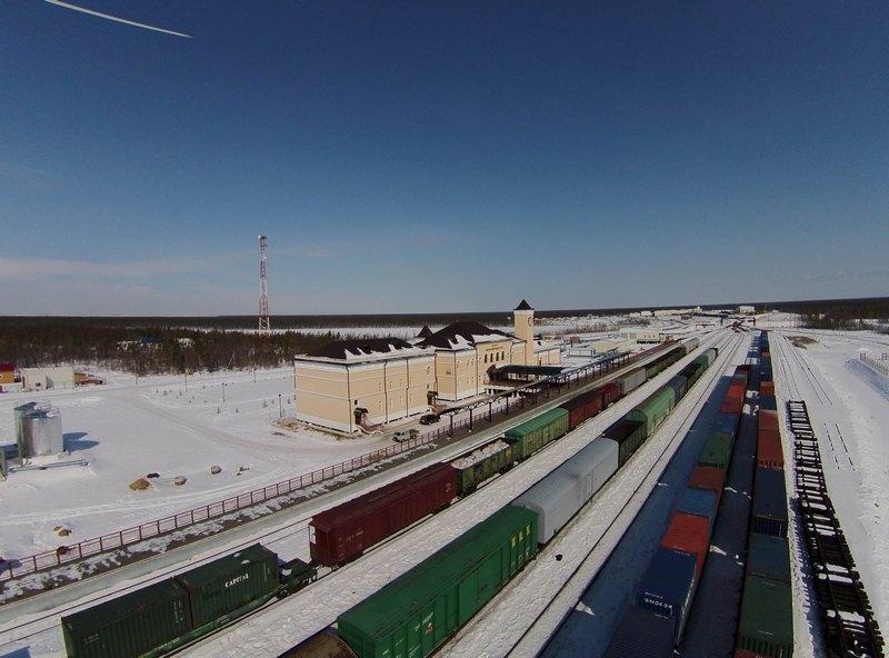 Объем перевозки грузов по участку Томмот - Нижний Бестях вырос на 42%