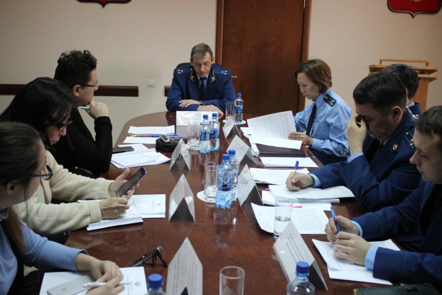 Прокурор Якутии провел первую пресс-конференцию