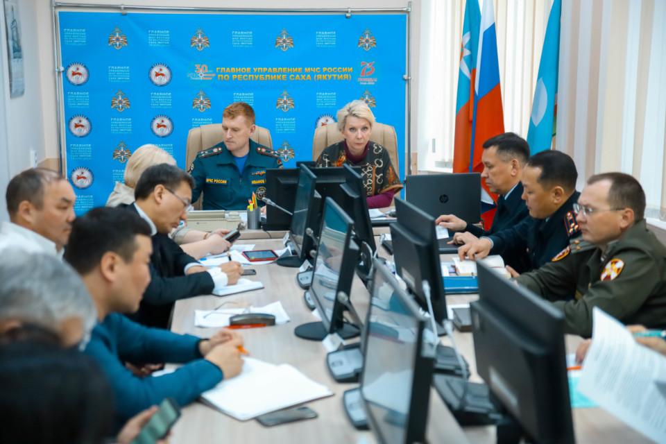 Проходят всероссийские учения МЧС по противодействию коронавирусу