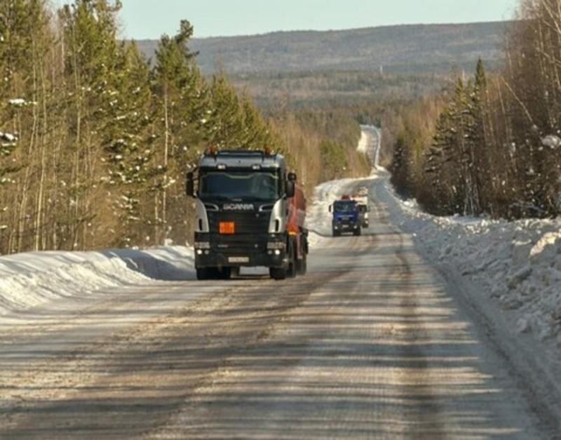 Якутия готовится к поэтапному снижению грузоподъемности на ледовых переправах