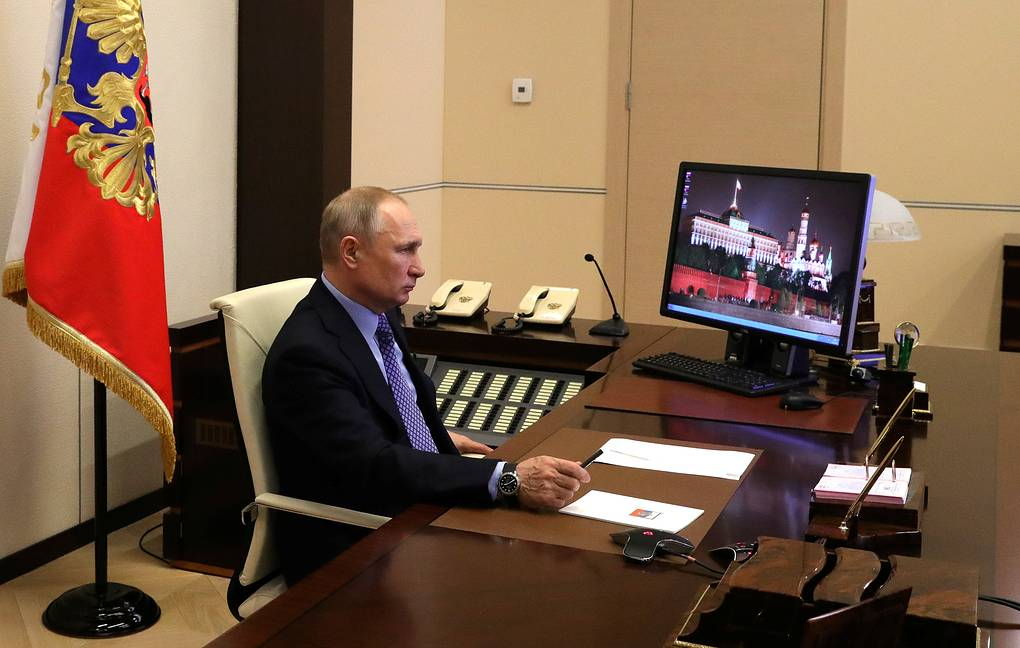Путин проведет совещание по борьбе с коронавирусом