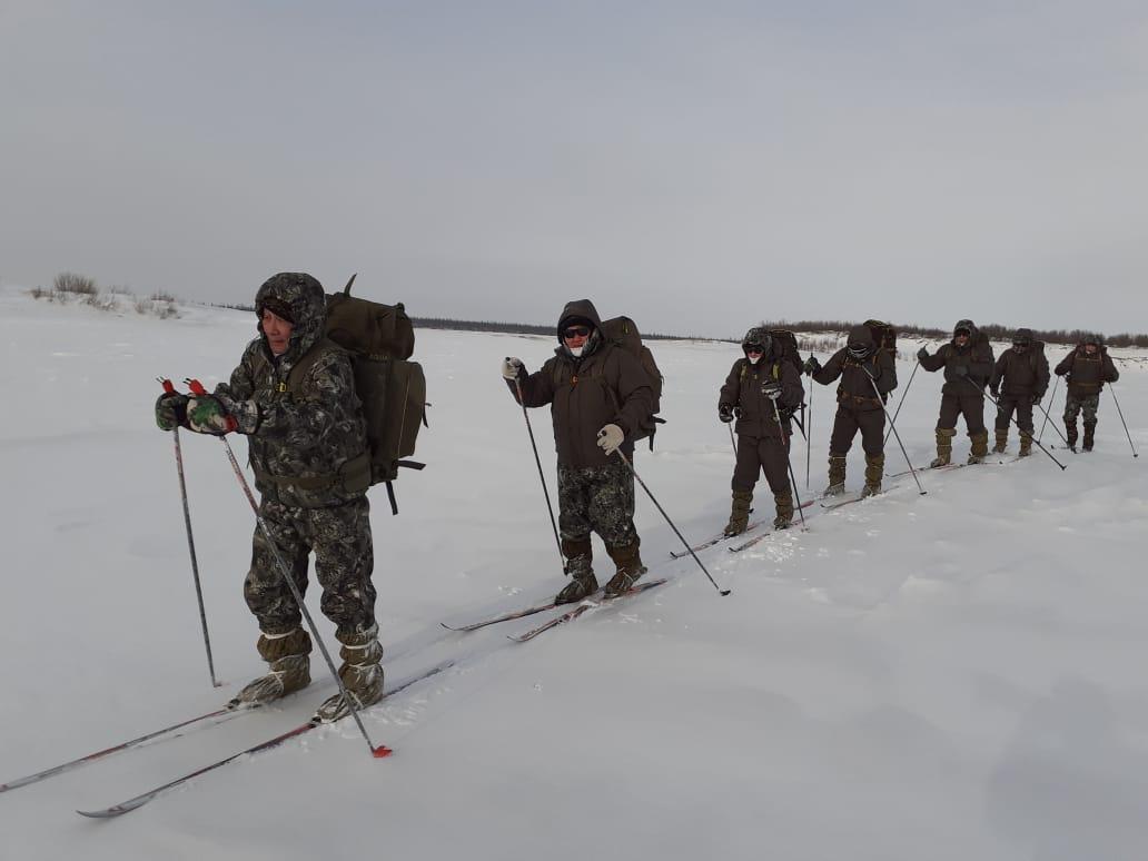 Погода не подвела. Участники лыжного перехода Кюсюр-Нюрба добрались до Сиктяха