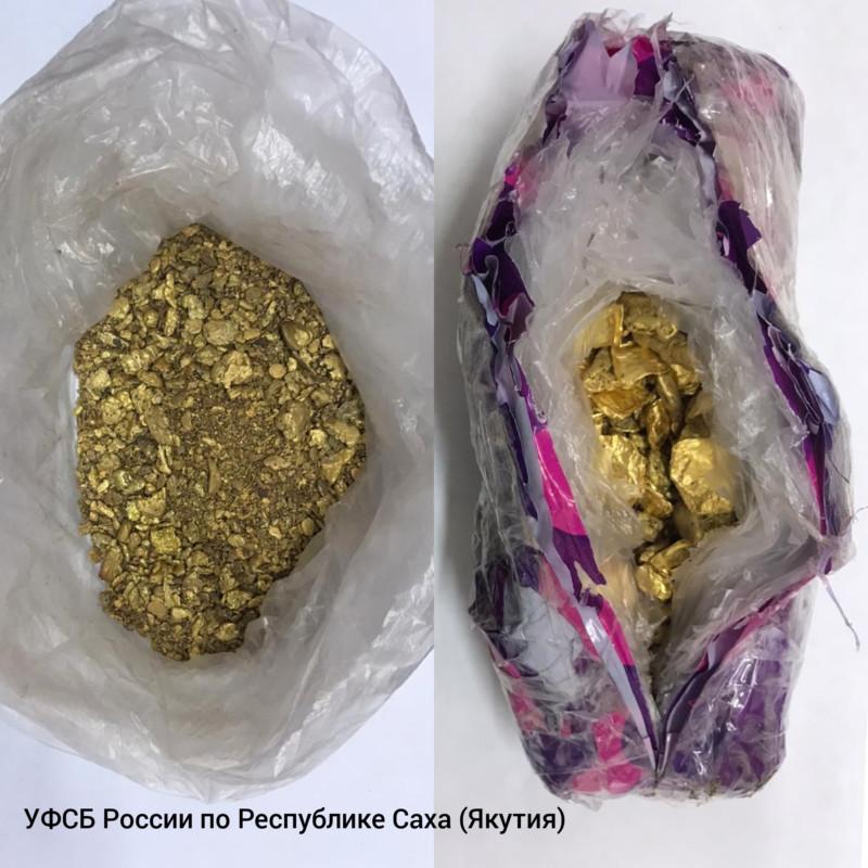 Уроженец Армении хотел вывезти из Якутии 3 кг золота