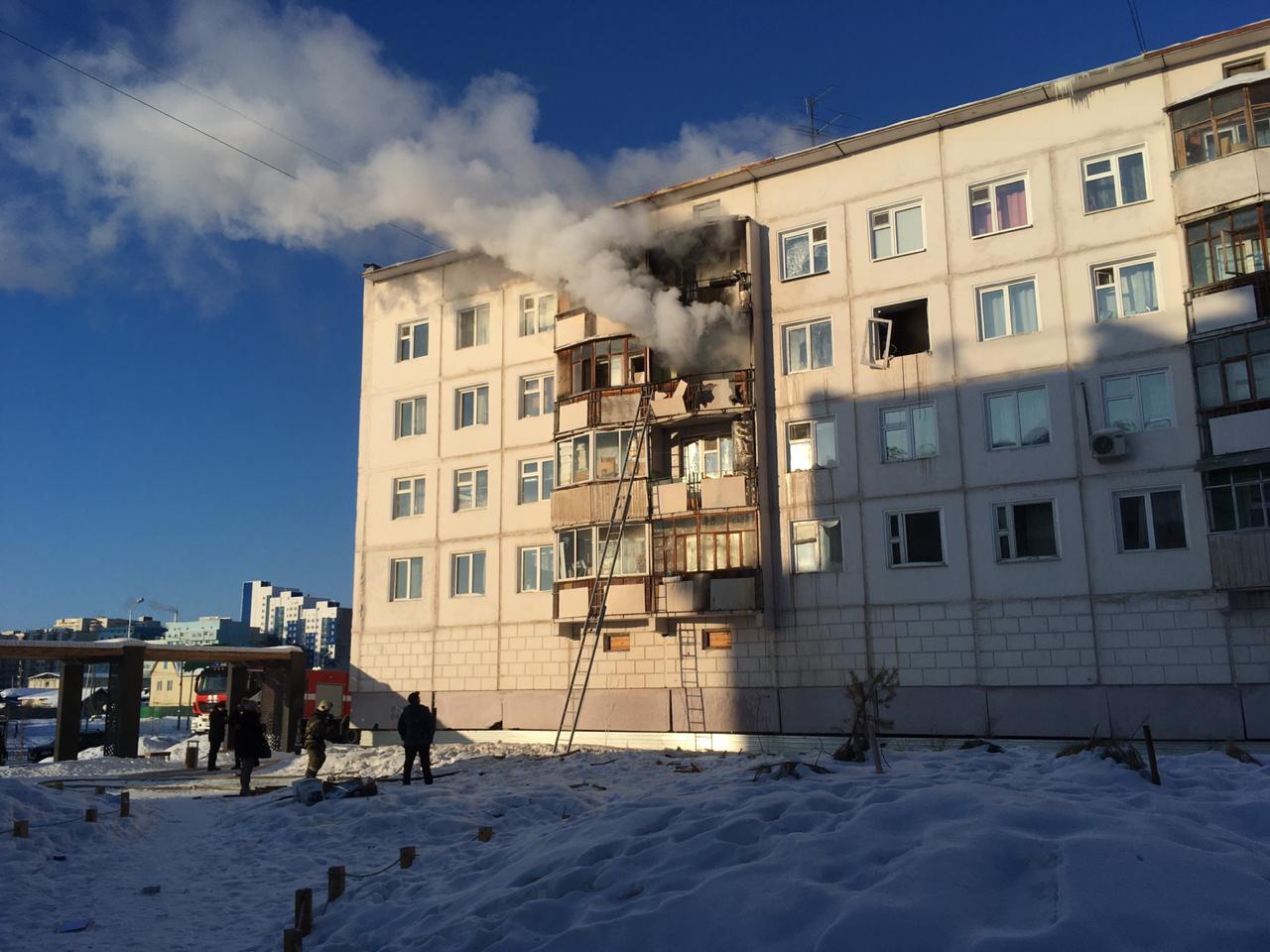 Пострадавшие при хлопке газа в доме по улице Ярославского города Якутска пришли в себя