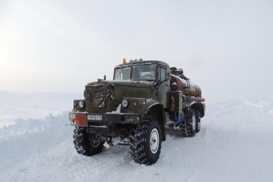 В Якутии автозимниками доставлено свыше 88% от запланированных грузов