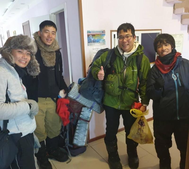 Четверо японских студентов отправились в велотур в арктический район Якутии