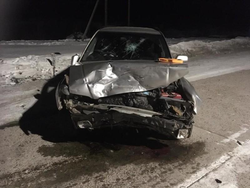 В Якутии по вине пьяного водителя в аварии пострадали два человека
