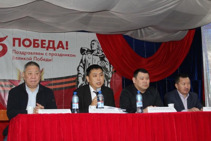Министр строительства Якутии об итогах отчета правительства в Кобяйском улусе