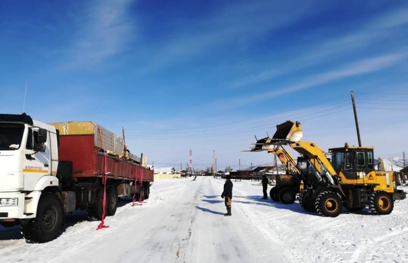 В Момский район доставили весь запланированный объем технических грузов