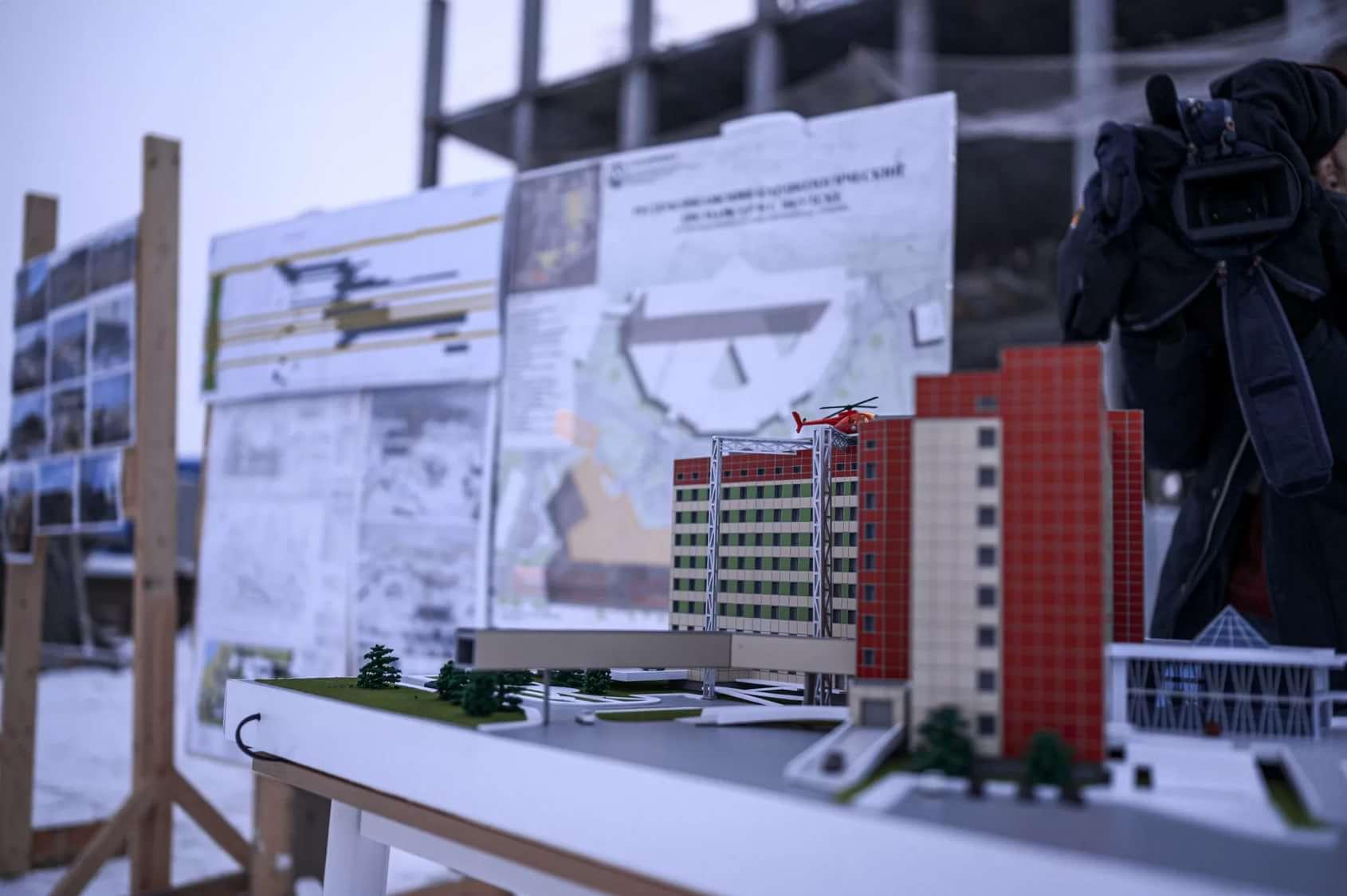 Строительство онкодиспансера и кардиоцентра в Якутске продолжается