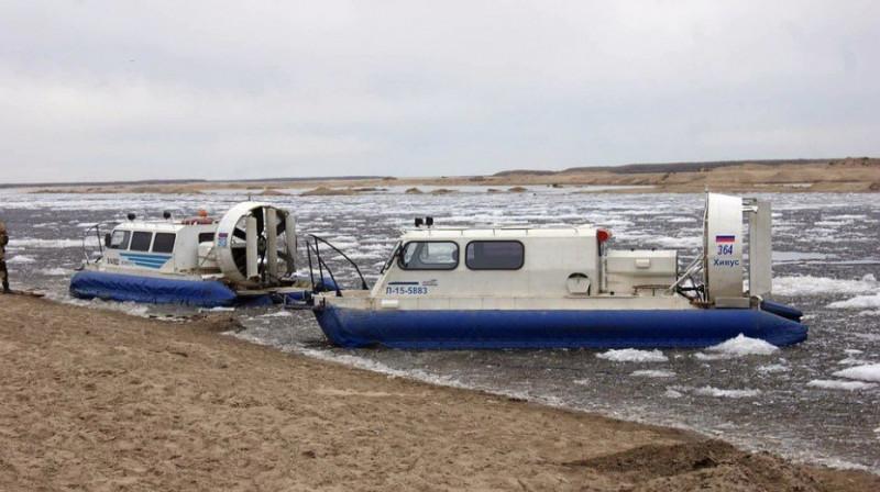 В Якутии суда на воздушной подушке возят грузы и пробы анализов, а не пассажиров