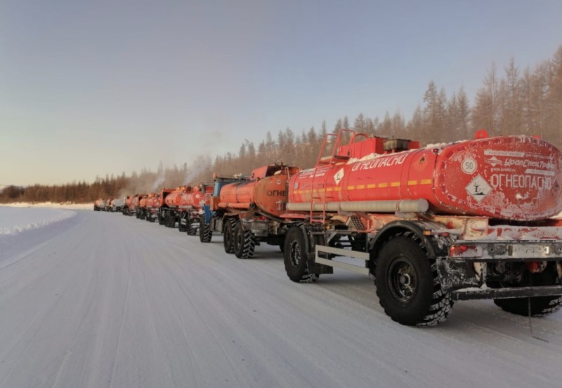 ГУП «ЖКХ РС (Я)» выполнило план завоза котельного топлива в районы Якутии