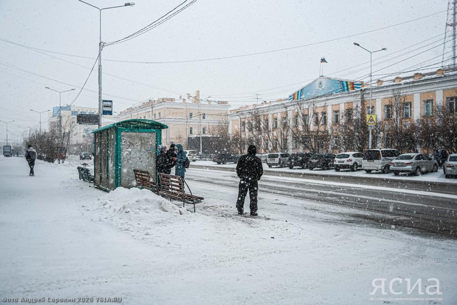 Транспортный поток в Якутске в режиме самоизоляции сократился на 93 процента