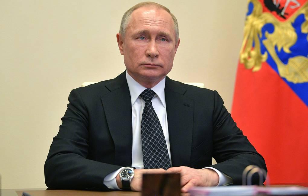 Путин рассчитывает, что Россия выйдет из пандемии с минимальными потерями