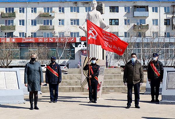 Знамя Победы впервые посещает муниципальные образования в особом формате