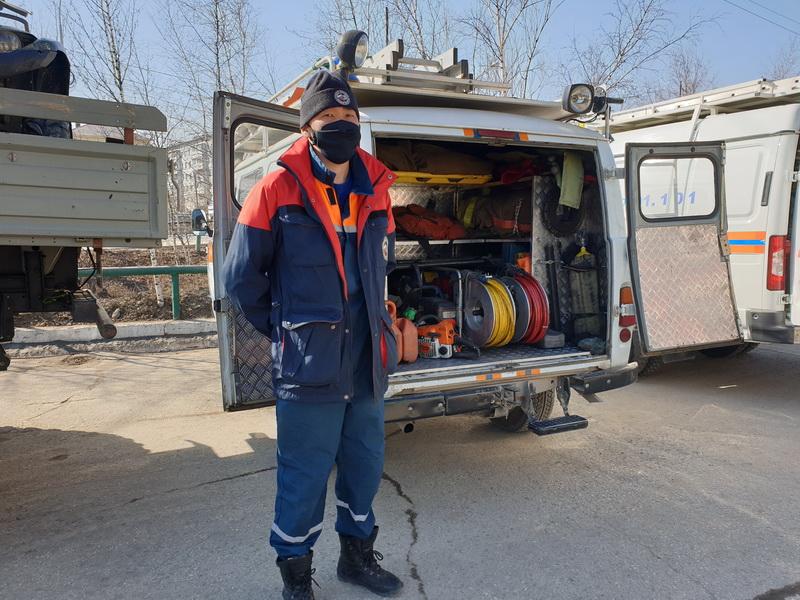 Полная готовность к паводку. Спасатели Якутии провели смотр техники и личного состава