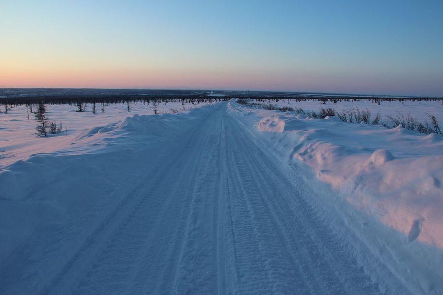 В Усть-Янском и Абыйском районах снижена грузоподъемность зимника до 20 тонн