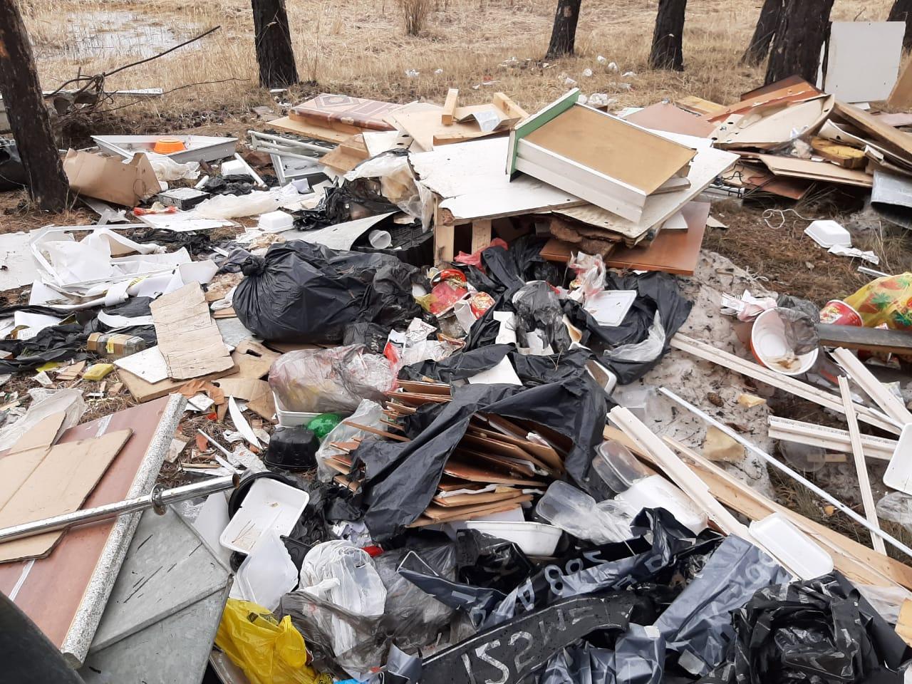 В Якутске выявили несанкционированные свалки