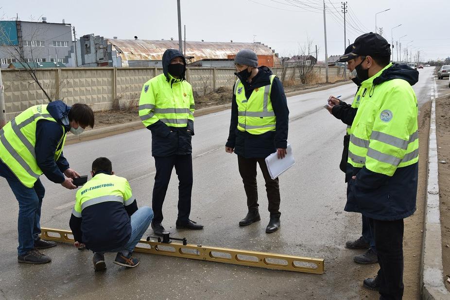 В Якутске начались проверки объектов нацпроекта «Безопасные и качественные автомобильные дороги»