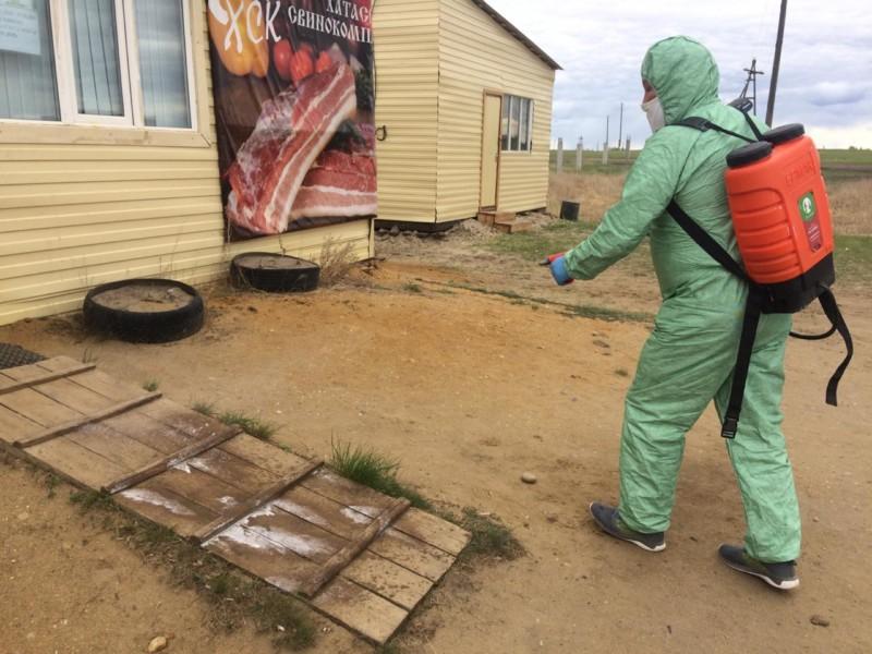 Во всех предприятиях агропромышленного комплекса Якутии проходит дезинфекция