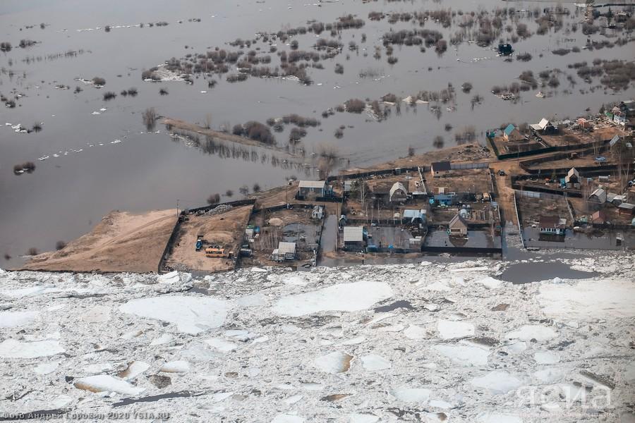 В районе Якутска взону затопления попали 52 дома, в которых проживают 168 человек