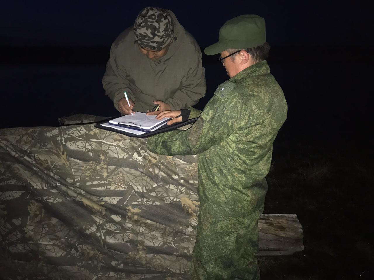 В Якутске проведен рейд по соблюдению правил охоты