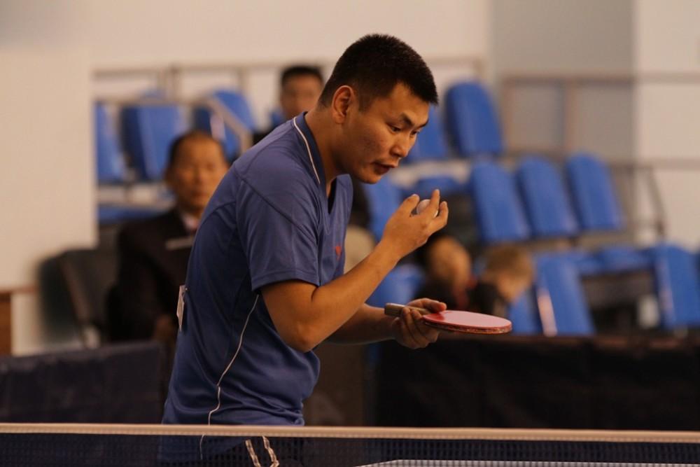 Нюргуну Сабарайкину присвоено звание мастера спорта России по настольному теннису