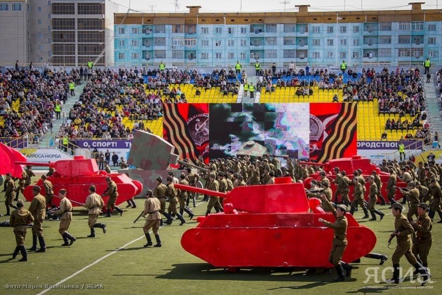 1995-2015: Как в Якутии отмечали юбилеи Победы