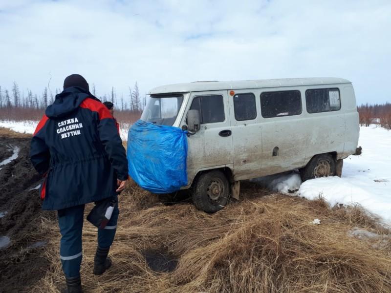 В Среднеколымском районе Якутии спасли шесть человек