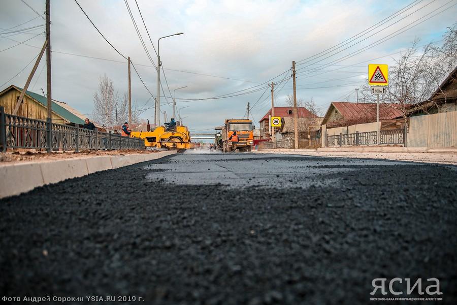 В 2021 году дорожные работы в Якутии охватят 210 км региональных автодорог