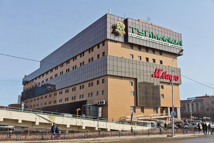 Крупные торговые центры Якутии заработают в последнюю очередь