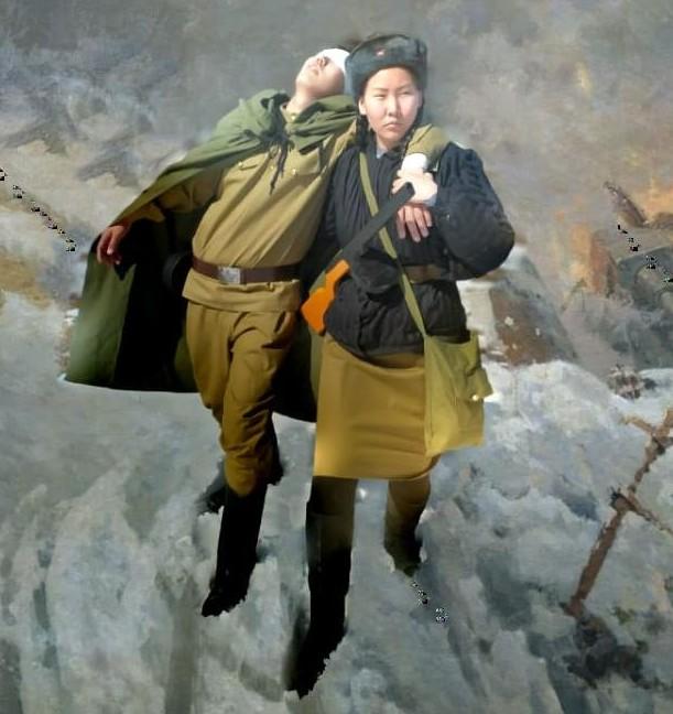 Ученики Хамагаттинского лицея оживили картины военных лет