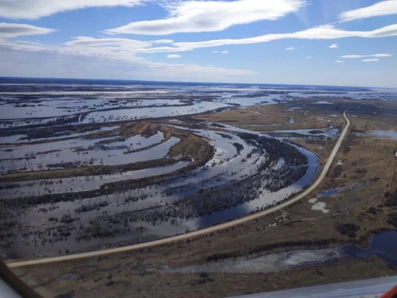 В Ленском, Олекминском и центральном районах продолжается понижение уровней воды