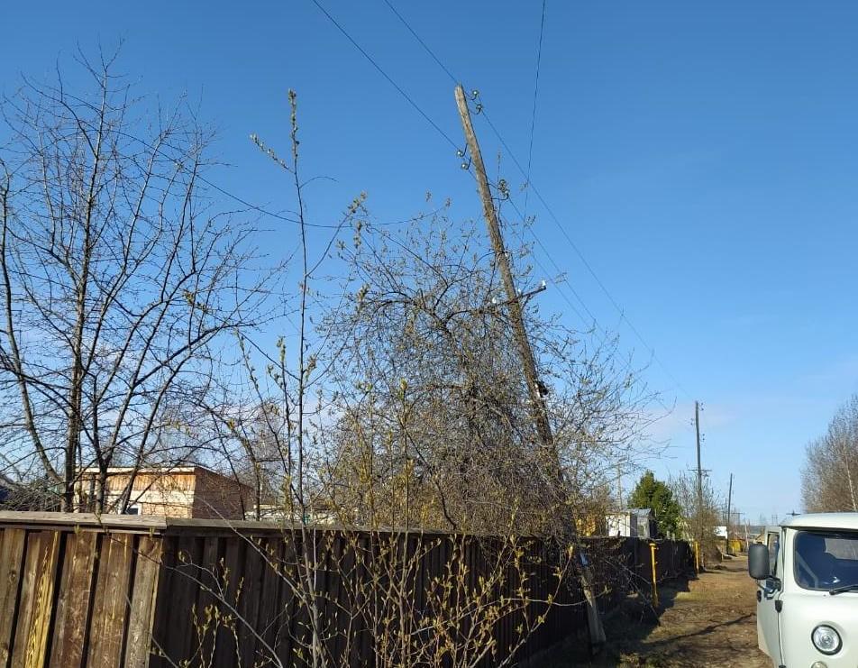 Энергетики восстановили электроснабжение в городе Ленске