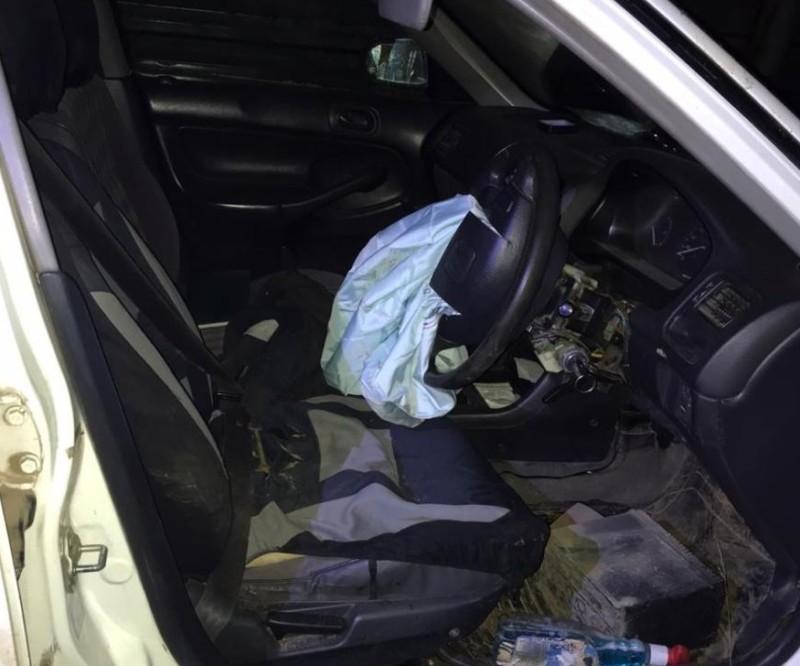 В Якутии пьяный водитель съехал в кювет и заявил, что выпил алкоголь после ДТП