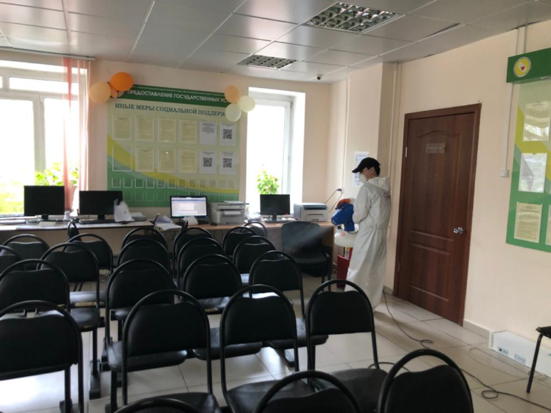 В социальных учреждениях Якутска проводят санобработку