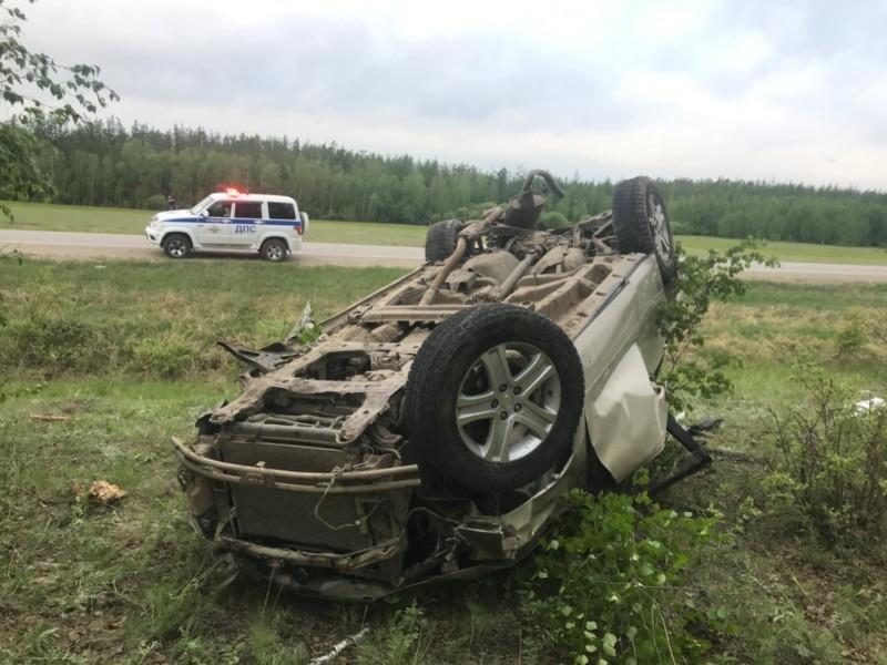 В Чурапчинском районе погиб пьяный водитель, севший за руль без прав