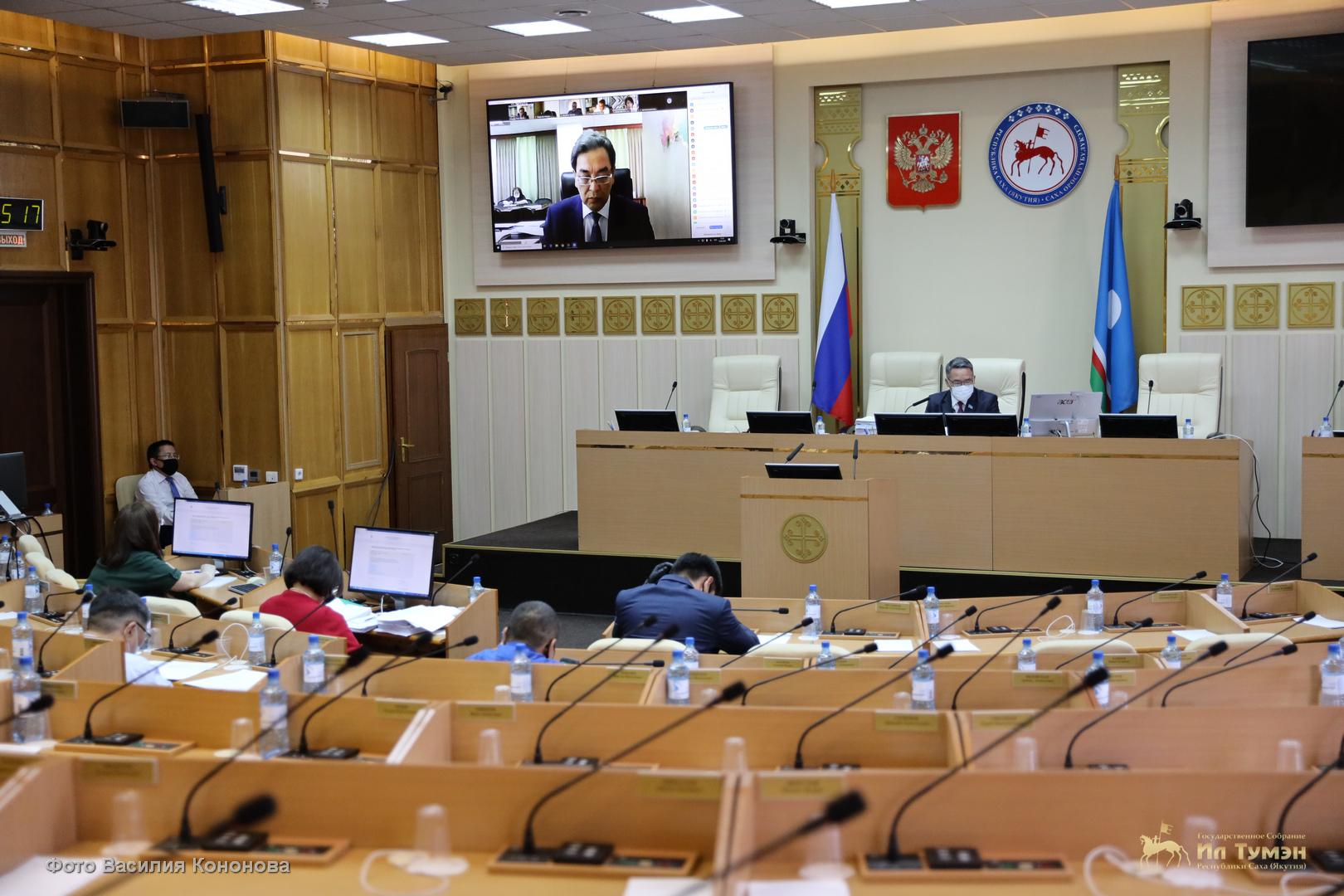 Парламент Якутии принял отчет правительства по исполнению бюджета