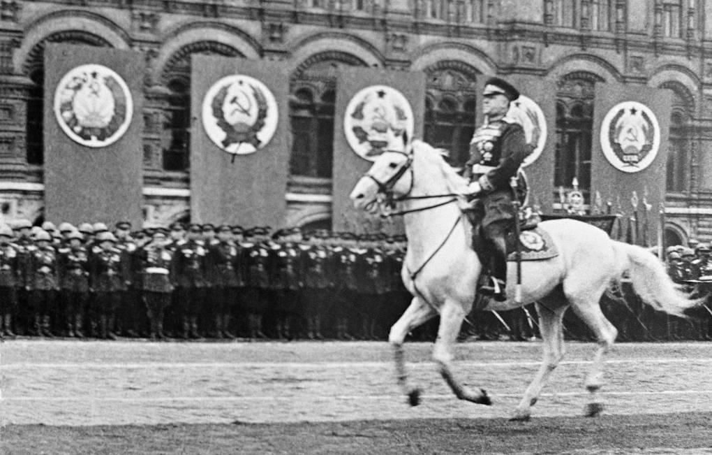 История парадов Победы на Красной площади