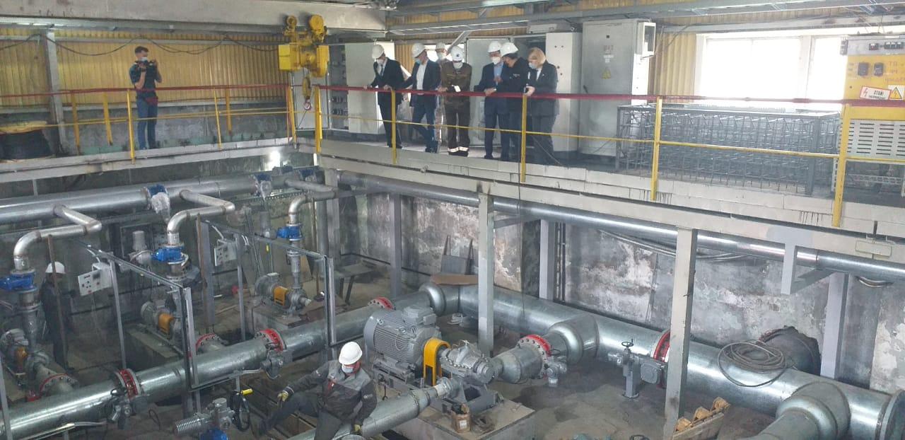 Айсен Николаев проверил ход работ по реконструкции системы водоснабжения Нерюнгри