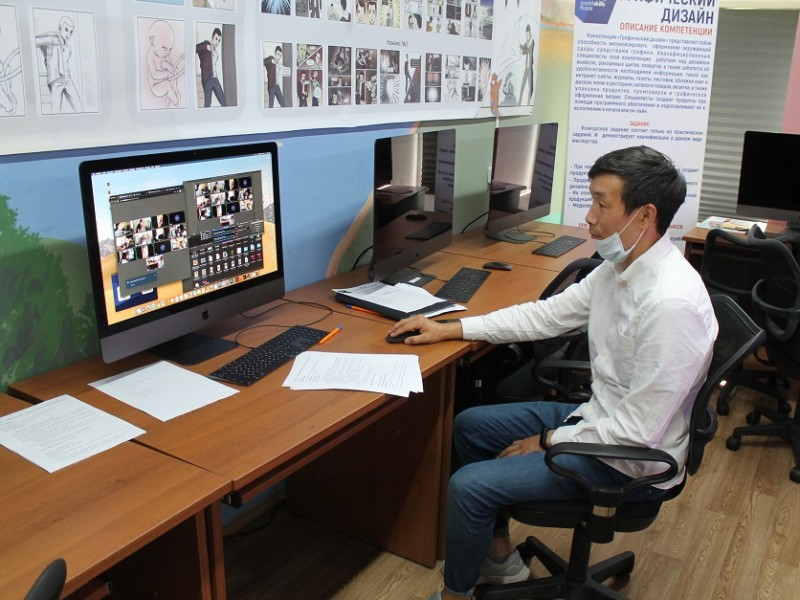 В Якутском колледже технологии и дизайна проходит демонстрационный экзамен в онлайн-формате