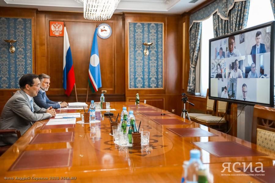 Обсуждены вопросы дальнейшего сотрудничества Якутии с ПАО «Сбербанк»