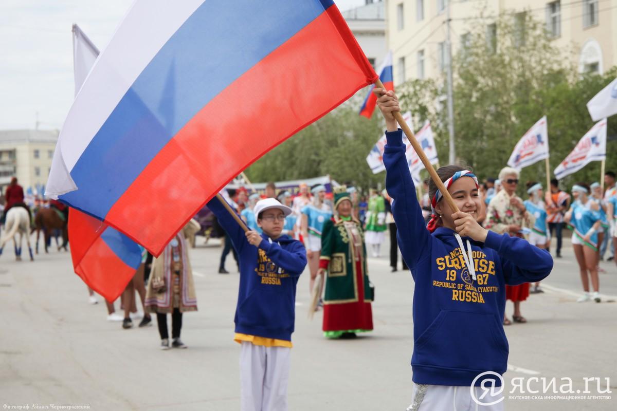 Фотоархив ЯСИА: День России в столице республики