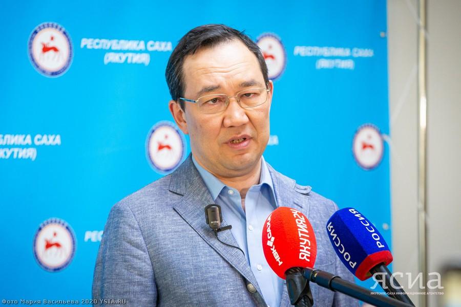 Глава Якутии: В Мирнинском районе имеются две ветви заболевания коронавирусом