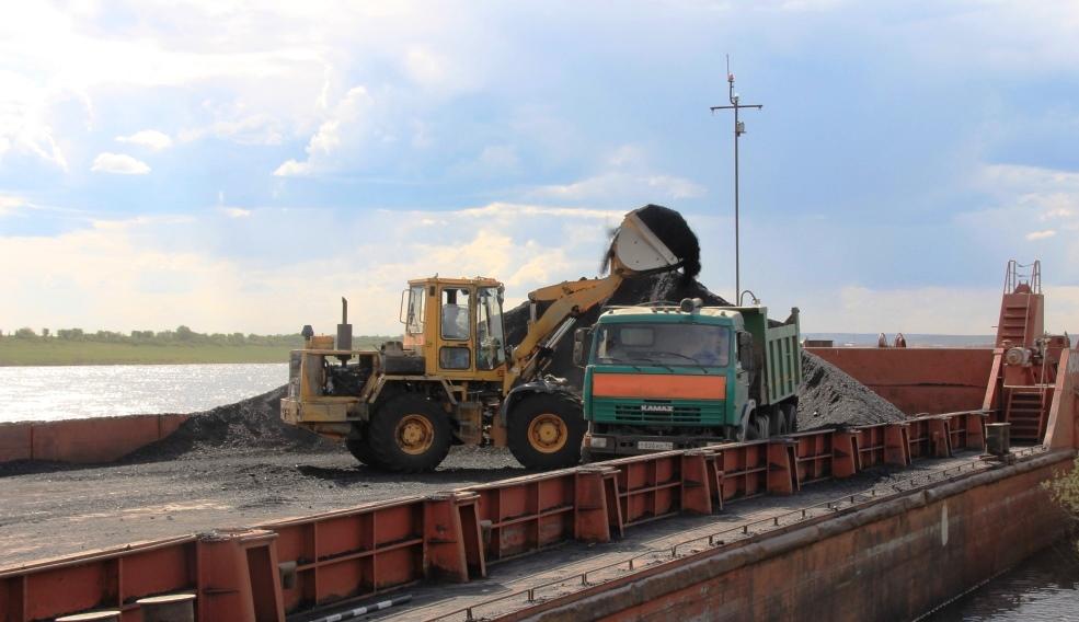 Навигация. Для Амгинского филиала ГУП «ЖКХ РС (Я)» доставили весь плановый объем угля