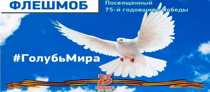 Жители Якутии могут стать участниками всероссийской акции «Голубь мира»