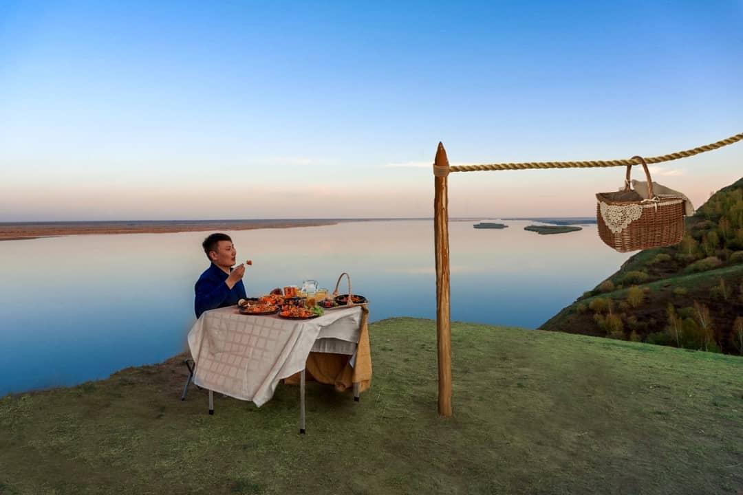 Бесконтактный ресторан на природе. Новый формат работы заведения в Якутске