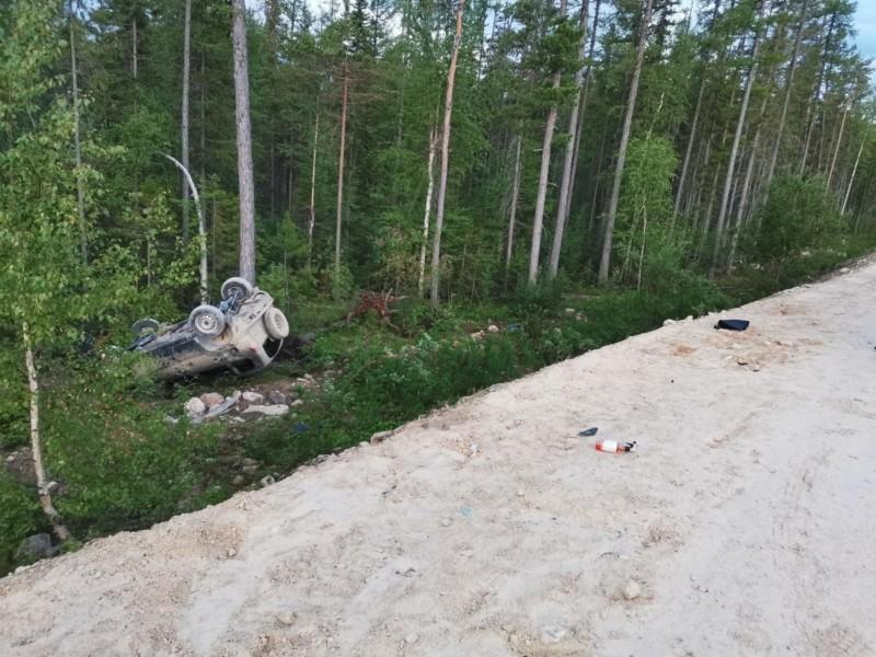 В Ленском районе в ДТП погиб водитель